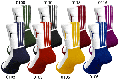 IN THE PAINT[インザペイント] IN THE PAINT PANEL SOCKS / インザペイント パネル ソックス