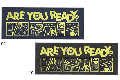 BenchWarmer[ベンチウォーマー] SPORTS TOWEL / スポーツタオル「ARE YOU READY?」
