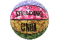 SPALDING[スポルディング] ミックス カモ ラバー5号球
