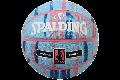 SPALDING[スポルディング] マーブル NBA 4 her ブルー×ピンク ラバー6号球