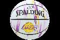 SPALDING/NBA[スポルディング/NBA] レイカーズマーブルラバー ホワイト 6号球