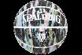 SPALDING[スポルディング] マーブル ラバー ブラック パステル【6号球】