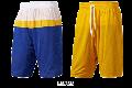 adidas/NBA[アディダス/NBA] SMR RN REV SHRT / サマーラン リバーシブル ショーツ「ゴールデンステイト=ウォリアーズ」
