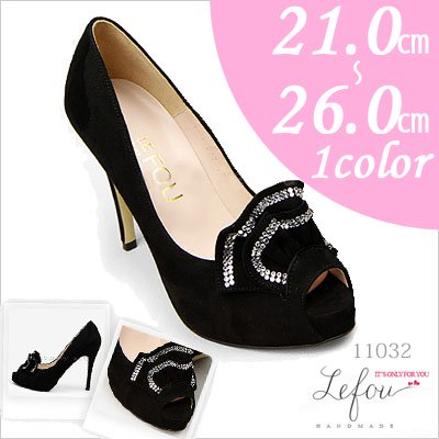 コサージュ 靴 レディース パンプス 25cm 25.5 26センチ le11032 2012 新作