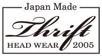 日本製 オリジナルデニム帽子 THRIFT