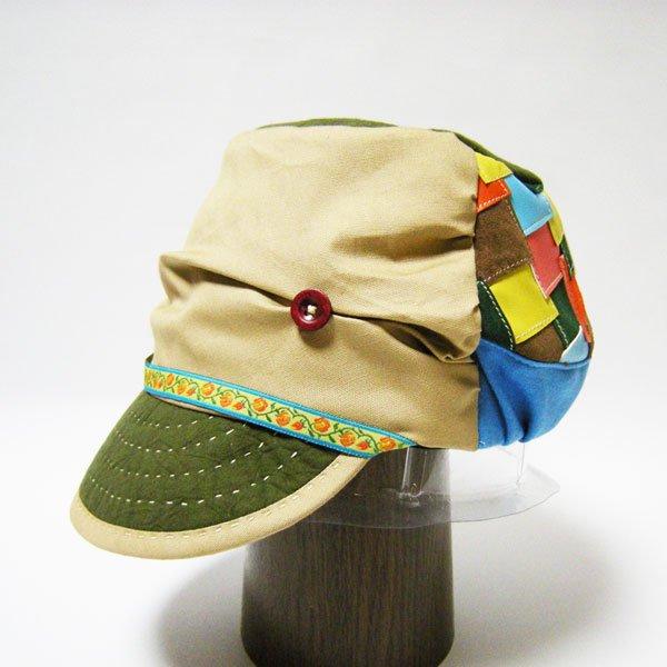 山女日記の柚月さんの帽子
