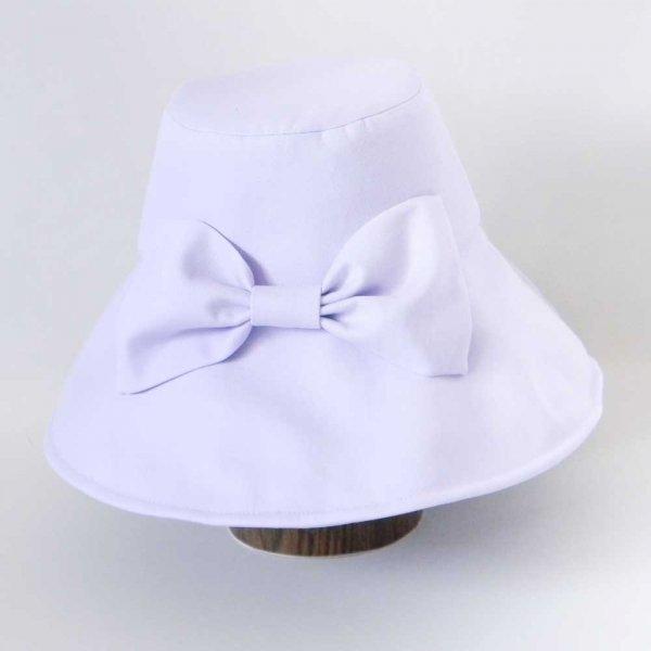 【カスタムオーダー帽子】遮光リボン付きキャペリンハット M.Y様 56 cm仕上げ【OD2481】