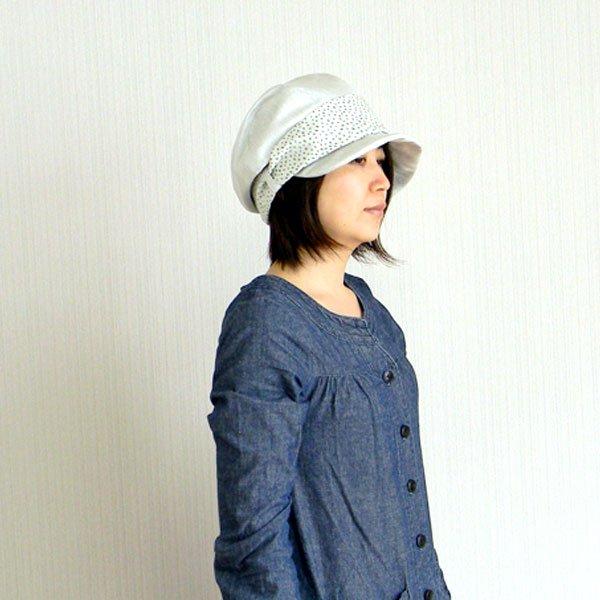 610e8676bf53a パールキャスケット-ピンク/グレイ/ブラック レディース 帽子 通販 サイズ ...
