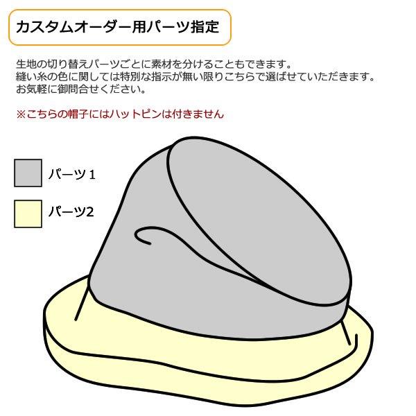 帽子のオーダーメイド