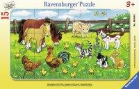 パネルパズル 農場の動物たち(ドイツ・ラベンスバーガー社)