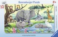 パネルパズル アフリカの動物たち(ドイツ・ラベンスバーガー社)