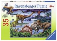 恐竜たちの遊び場(35ピース)(ドイツ・ラベンスバーガー社)