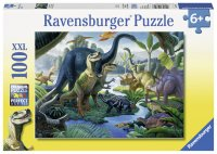 恐竜の大地(100ピース)(ドイツ・ラベンスバーガー社)
