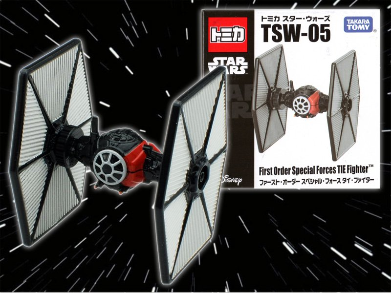 TAKARA TOMY TSW-05 Tomica Star Wars first-order Special Force TIE fighter