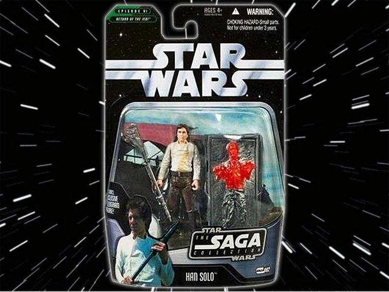 Star Wars The saga Collection Han Solo Basic Action Figure