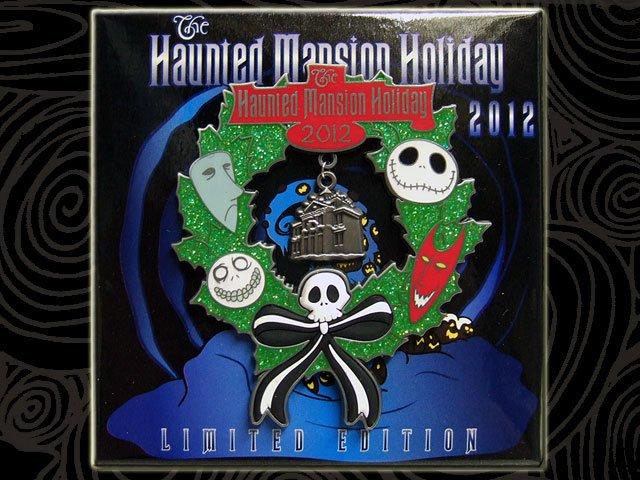 Haunted Mansion Holiday Foyer Music : ナイトメアビフォアクリスマス usdlジャンボピン ホーンテッドマンションホリデーリース bandit