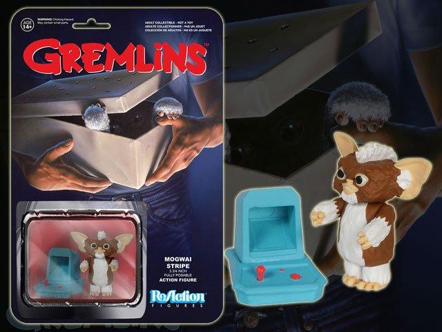 グレムリンGREMLiNS 3.75インチ・アクションフィギュア /リアクション・シリーズ1 ストライプ(モグワイ版) , BANDIT,  Selected Toys