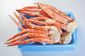 訳ありボイル冷凍本タラバガニ足約3.0kg 北海道から蟹ぶっこみ箱
