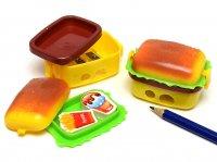 ハンバーガー シャープナー ( 消しゴム付き )