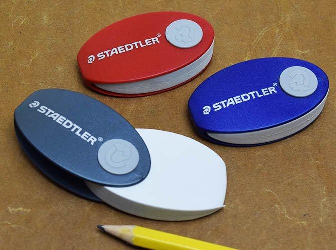 STAEDTLER ステッドラー カプセル イレーサー ( ケース付き 消しゴム )