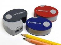 STAEDTLER ステッドラー カプセル ダブル シャープナー ( 2穴 鉛筆削り )