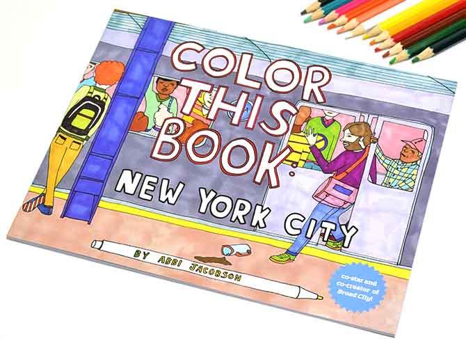 croniclebooks クロニクルブックス ニューヨーク カラーリングブック (塗り絵)
