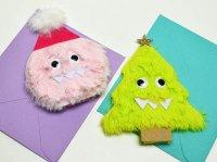 クリスマス モンスター ボイス カード