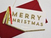 クリスマス バナーカード