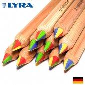 LYRA リラ カラージャイアント 4in1 4色鉛筆 (六角軸) 3930500
