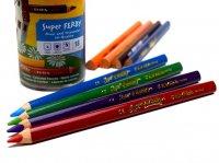 【送料無料】LYRA リラ スーパーファルビー 色鉛筆 18色 塗装軸 / Super FERBY スーパー ファービー