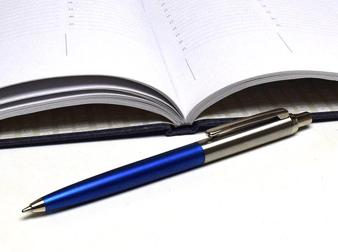 AUTOPOINT オートポイント Pocket Pal ボールペン [ブルーボディ]