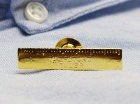 papejewellery パペジュリー ピンブローチ 「はかりしれないフューチャー」 / 定規