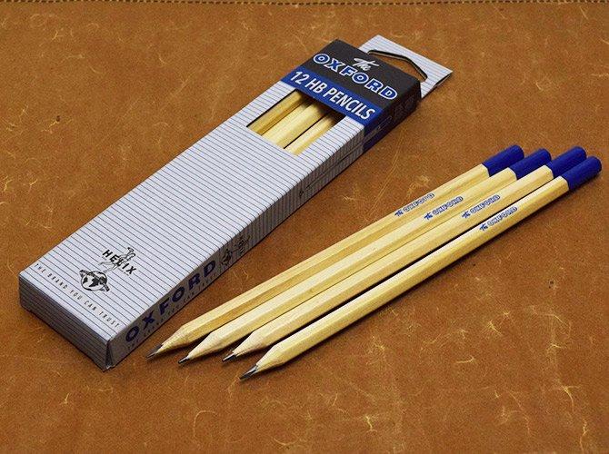 Helix へリックス OXFORD ヴィンテージデザイン 鉛筆 HB 12本入り