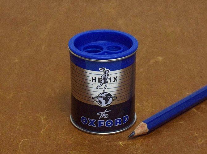 Helix へリックス OXFORD ヴィンテージデザイン 2穴 ミニ 鉛筆削り