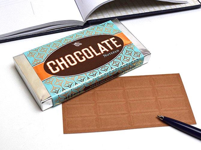 croniclebooks クロニクルブックス チョコレート メモ
