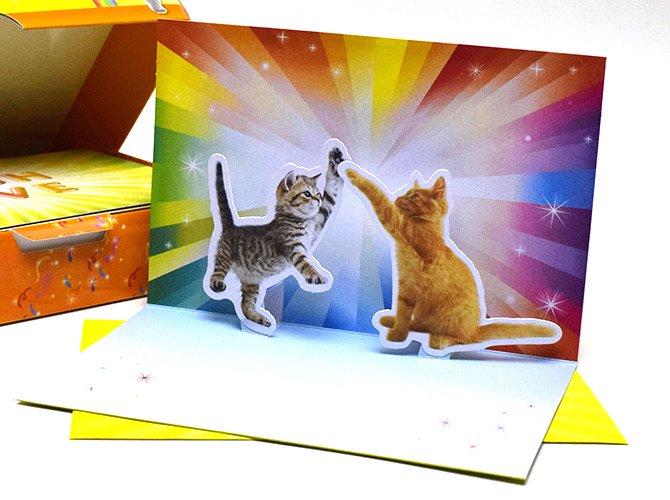 croniclebooks クロニクルブックス ハイファイブ ポップアップ カード(10枚セット)