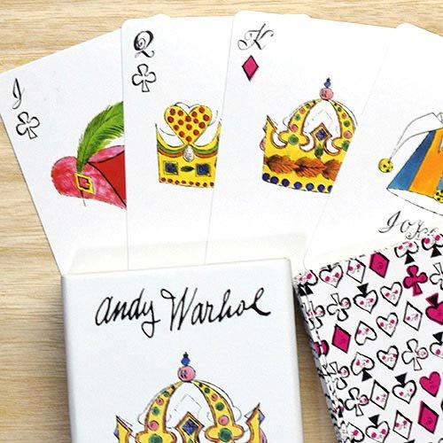 mudpuppy Andy Warhol プレイングカード