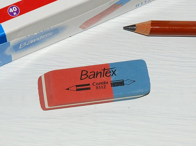 Bantex バンテックス コンビ消しゴム [8112]