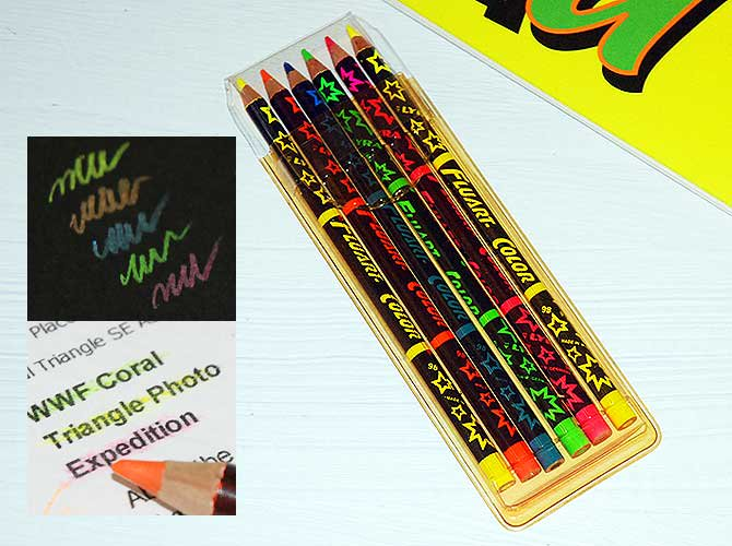 LYRA リラ ネオンカラー色鉛筆(6本入り)