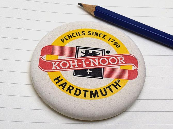 KOH-I-NOOR コヒノール 丸型ジャンボ消しゴム
