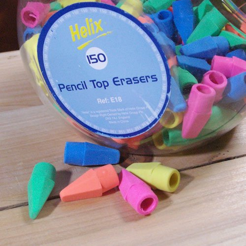 Helix  Pencil Top Eraser / Bulk
