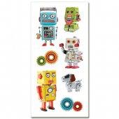 PaperHouse ペーパーハウス ダイカットステッカー [ロボット] ST-2233RTE