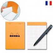 RHODIA ロディア ブロックロディア No.13 (105×148mm) オレンジ