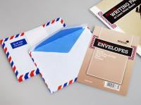 SILVINE シルバイン エアメール C6サイズ封筒(25枚入り)