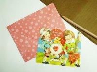 Punch Studio バレンタイン 立体カード [キッズバンド]