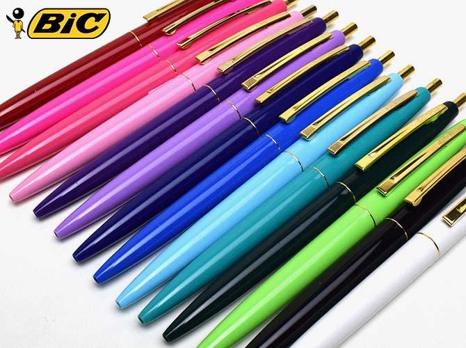 BiC ビック クリックゴールド ボールペン