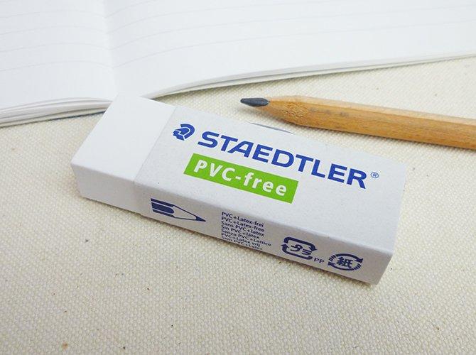 【当店通常価格50%OFF】STAEDTLER ステッドラー 字消し(消しゴム) PVCフリー