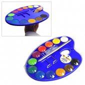 MOROCOLOR モロカラー パレット付き 固形水彩絵具 12色 セット