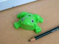 カエルの鉛筆削り