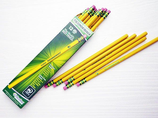 DIXON ディクソン イエロー鉛筆 [TICONDEROGA] (12本入り / HB)